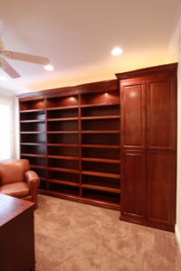 Library / Media Niche remodeling